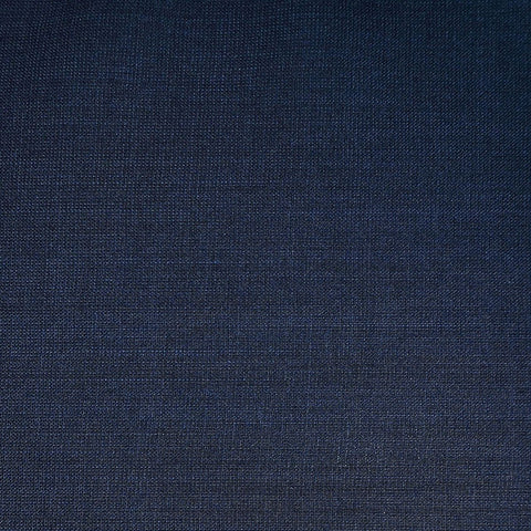 Medium Blue Plain Weave Italian Wool Suiting - 3.50 Metres