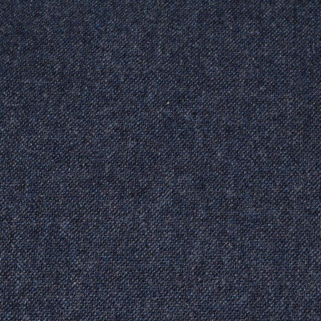 Medium Blue/Grey and Dark Blue Salt and Pepper Tweed - Sold Per Metre