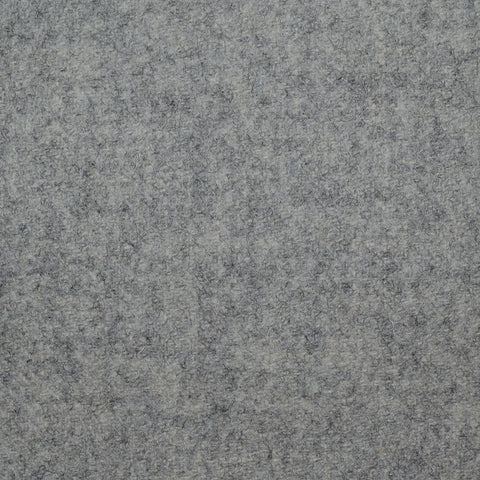 Silver Grey Wool Coating