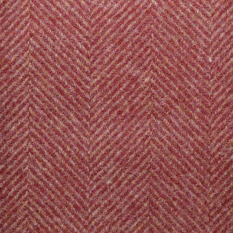 Red & Tan Large Herringbone Coating