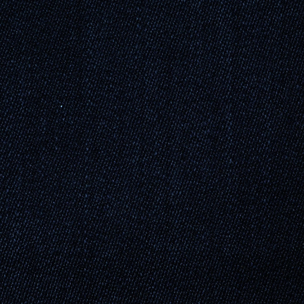 Black All Wool Covert Coating