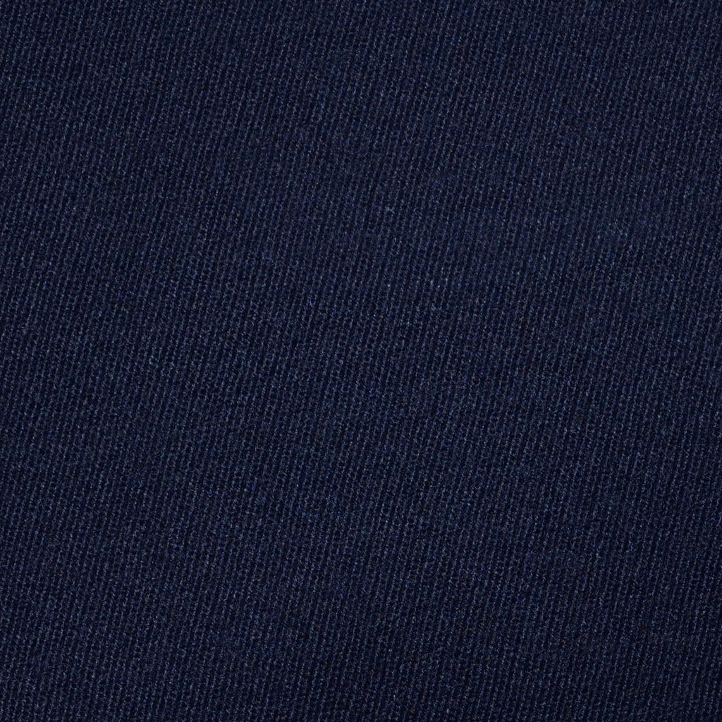 Dark Navy Blue All Wool Cavalry Twill