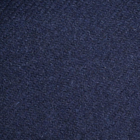 Dark Navy Blue Marl Lambswool Tweed