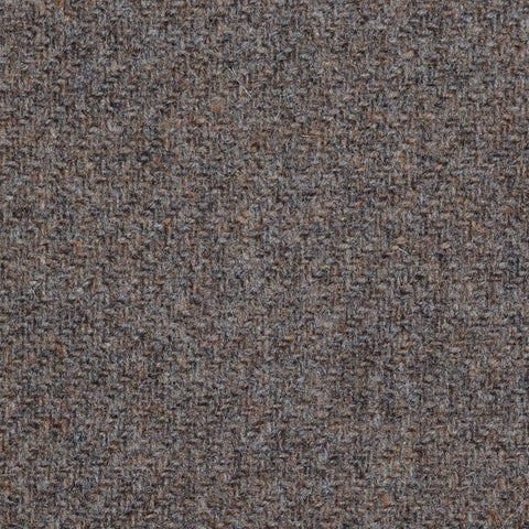 Brown Marl Lambswool Tweed