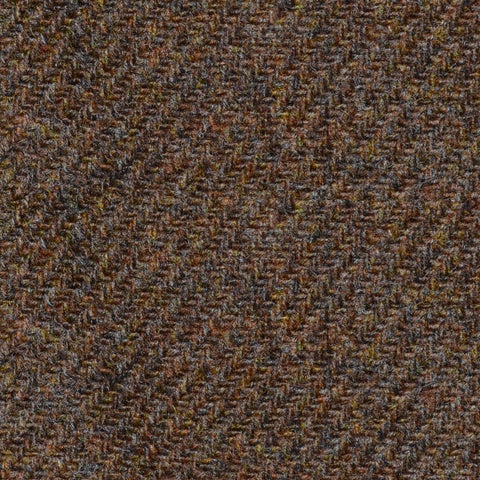 Medium Brown Marl Lambswool Tweed