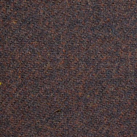 Dark Brown Marl Lambswool Tweed