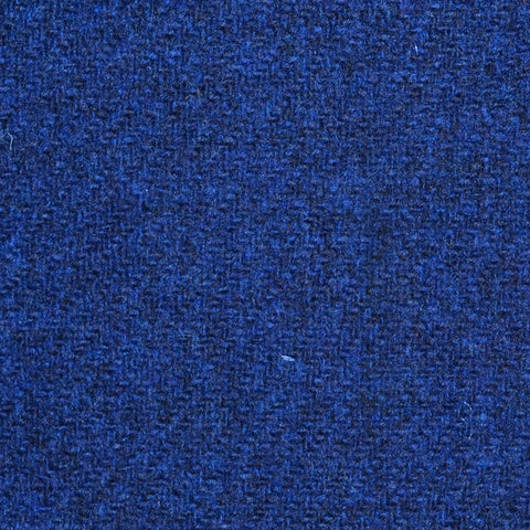 Bright Blue Marl Lambswool Tweed