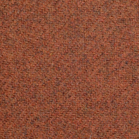 Rust Marl Lambswool Tweed