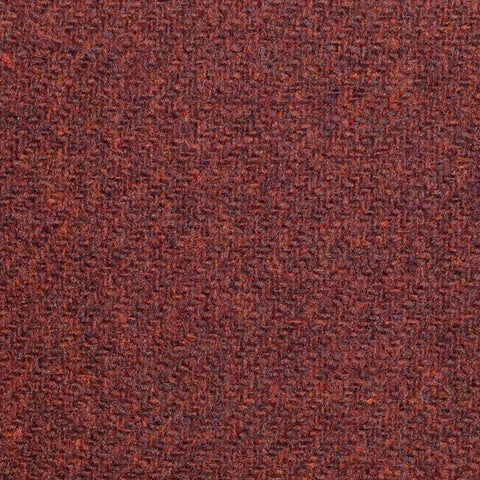 Burnt Orange Marl Lambswool Tweed
