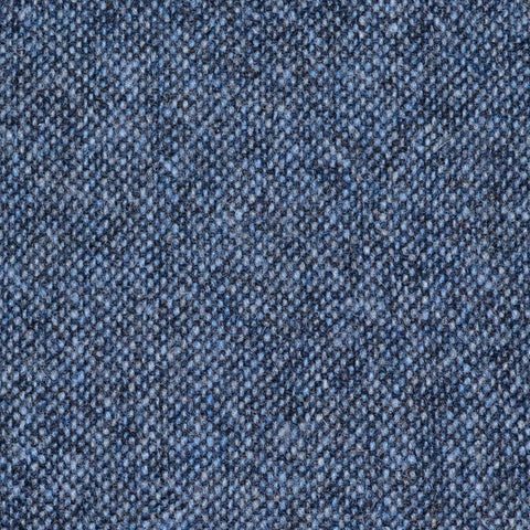Denim Blue Donegal Lambswool Tweed