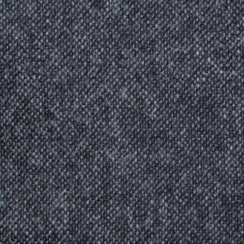 Dark Grey Salt & Pepper Donegal Lambswool Tweed