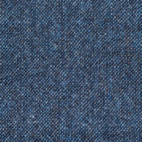 Ink Blue Donegal Lambswool Tweed