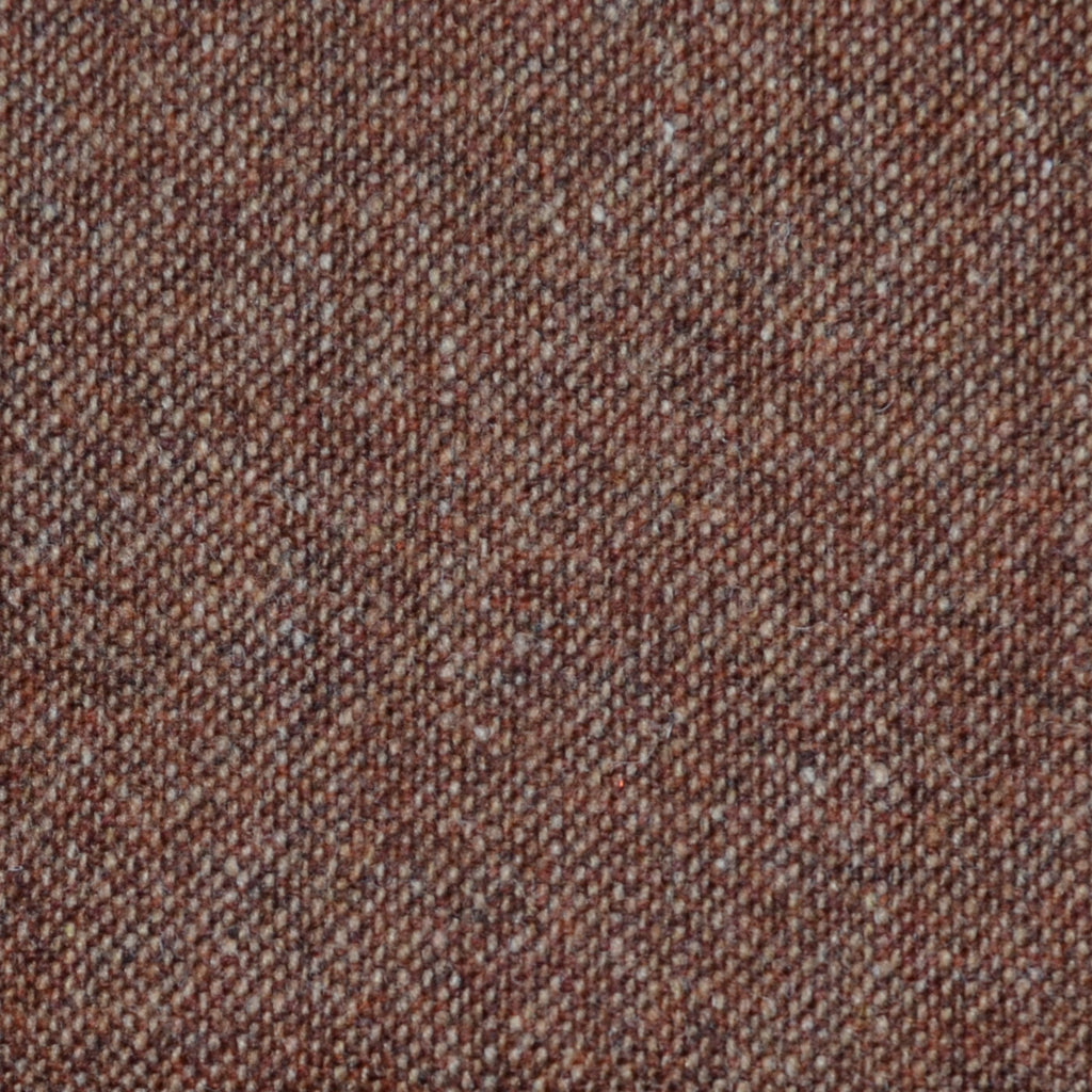 Burnt Orange Donegal Lambswool Tweed