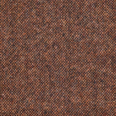 Ginger Brown Donegal Lambswool Tweed