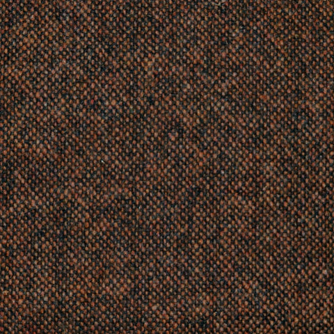 Medium Brown Salt & Pepper Donegal Lambswool Tweed
