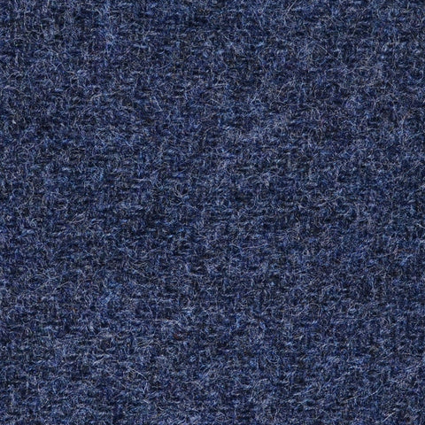 Medium Blue Marl Shetland Tweed