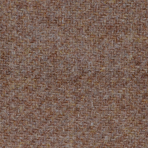 Light Brown Marl Shetland Tweed