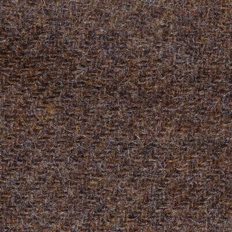 Medium Brown Marl Shetland Tweed