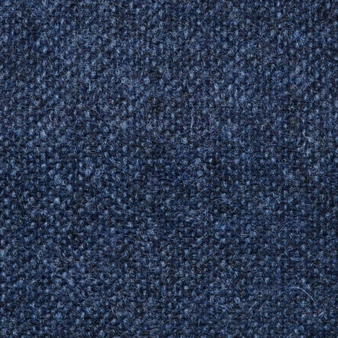 Medium Blue Salt & Pepper Donegal Shetland Tweed