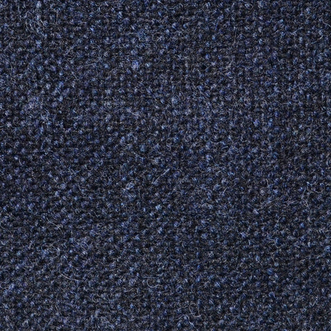 Dark Blue Salt & Pepper Donegal Shetland Tweed