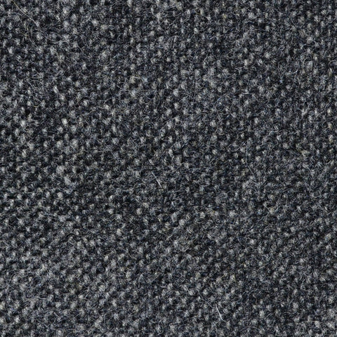 Grey Salt & Pepper Donegal Shetland Tweed