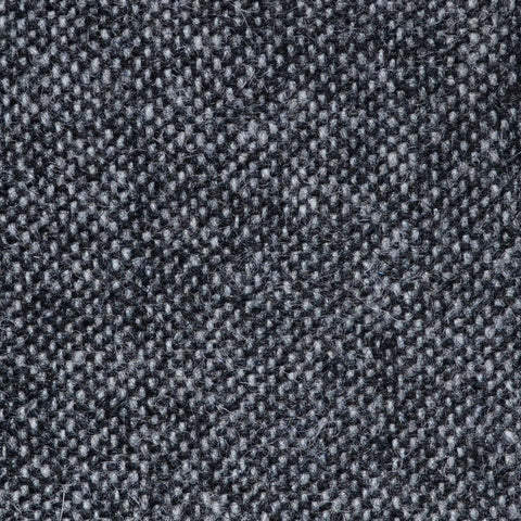 Medium Grey Salt & Pepper Donegal Shetland Tweed