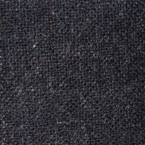 Dark Brown/Grey Salt & Pepper Donegal Shetland Tweed