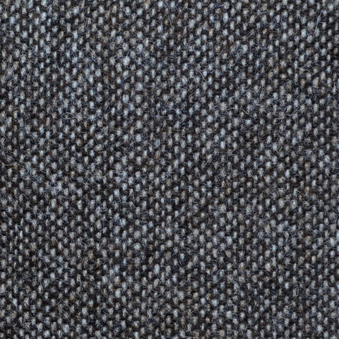 Medium Brown Salt & Pepper Donegal Shetland Tweed