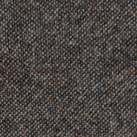 Light Brown Salt & Pepper Donegal Shetland Tweed