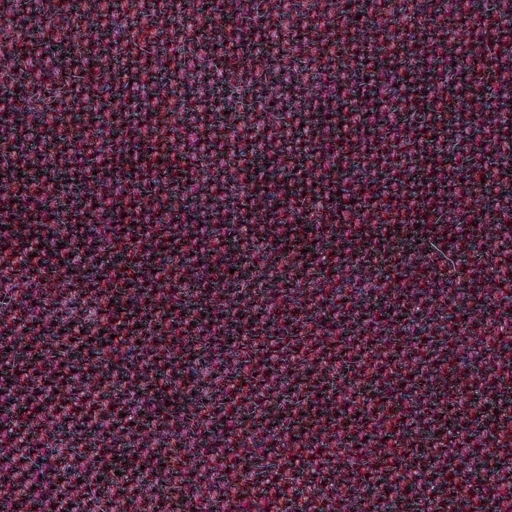 Damson Salt & Pepper Donegal Shetland Tweed