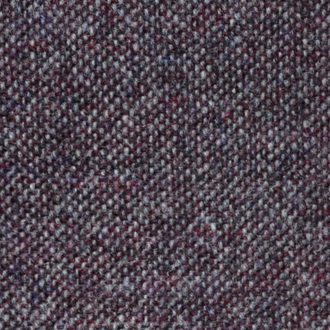 Grape Salt & Pepper Donegal Shetland Tweed