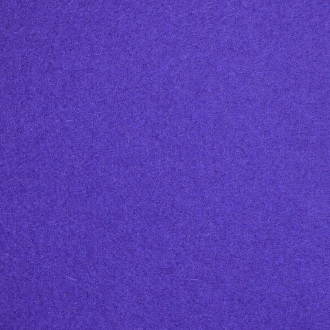 Purple Melton Wool Coating