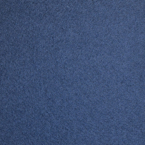 Blue/Grey Melton Wool Coating