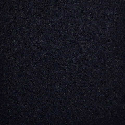 Black All Wool Melton Coating