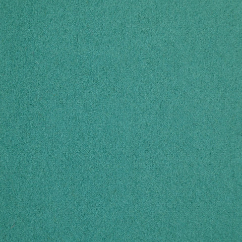 Sea Green Melton Wool Coating