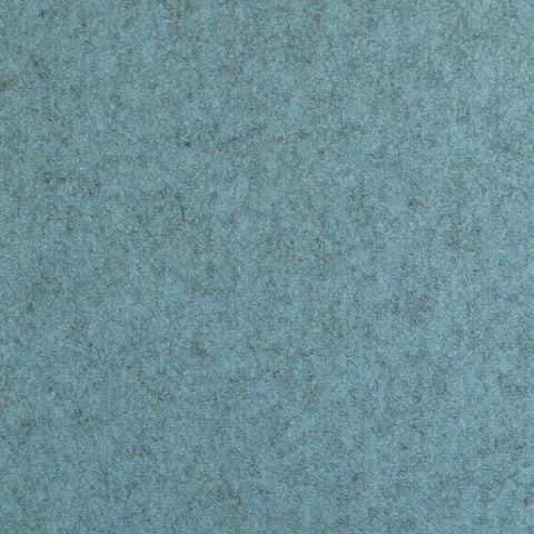 Light Blue Marl Melton Coating
