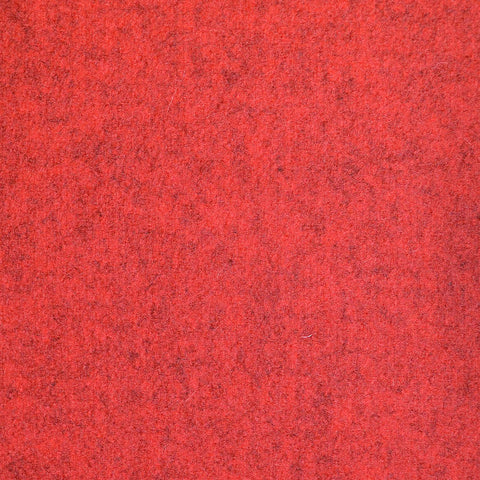 Red Marl Melton Coating