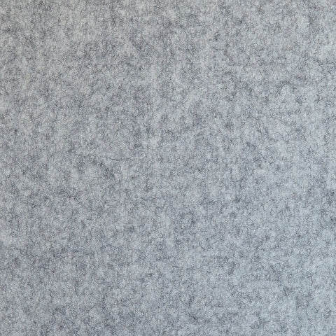 Light Grey Marl Melton Coating