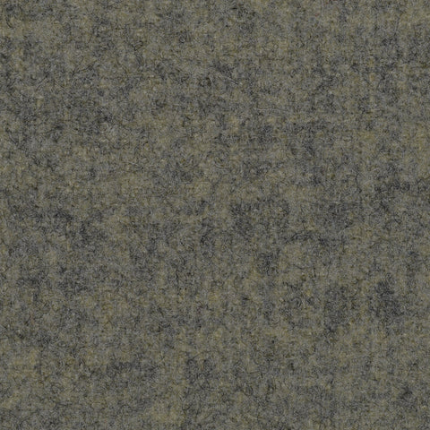 Yellow Marl Melton Wool Coating
