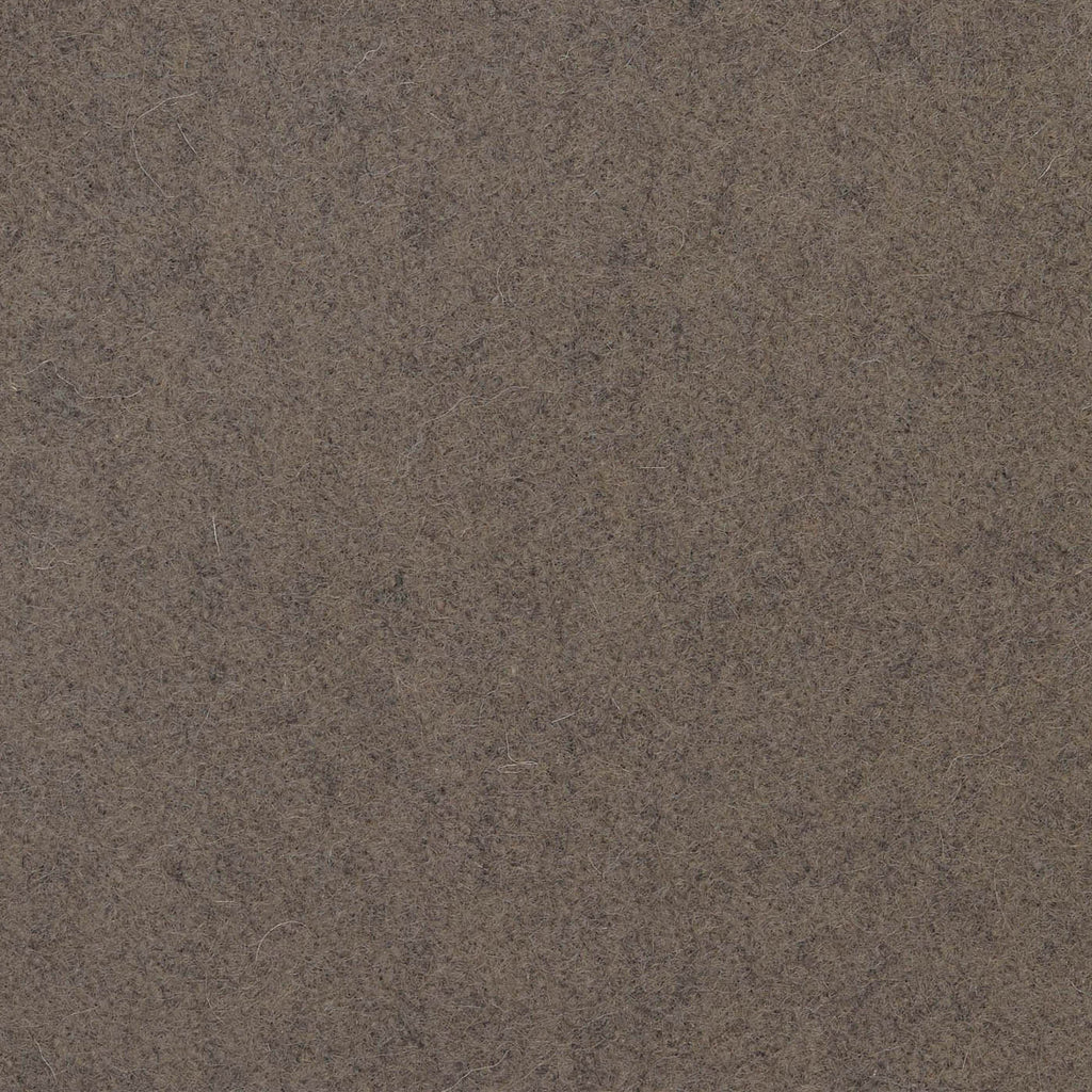 Mocha Melton Wool Coating