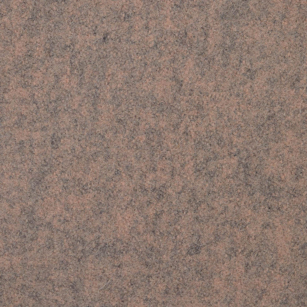 Almond Marl Melton Wool Coating