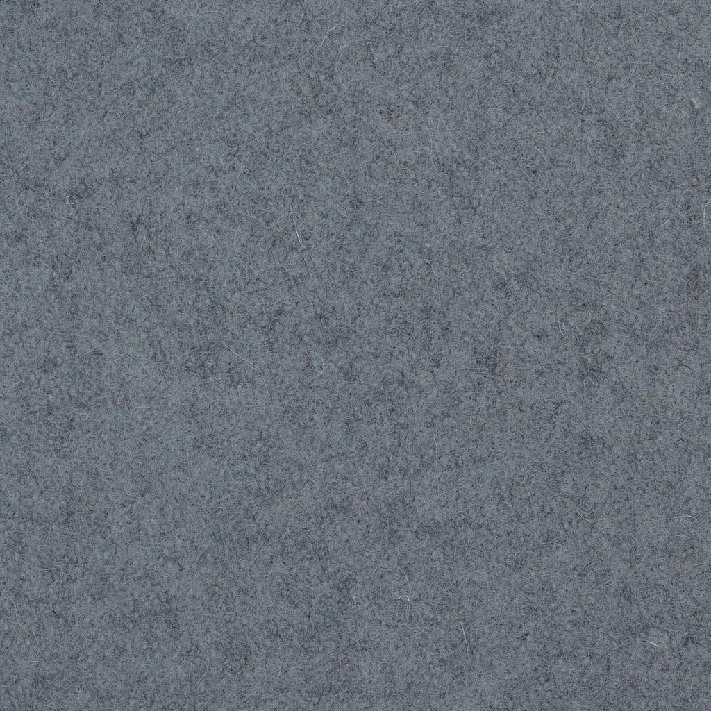 Slate Grey Melton Wool Coating
