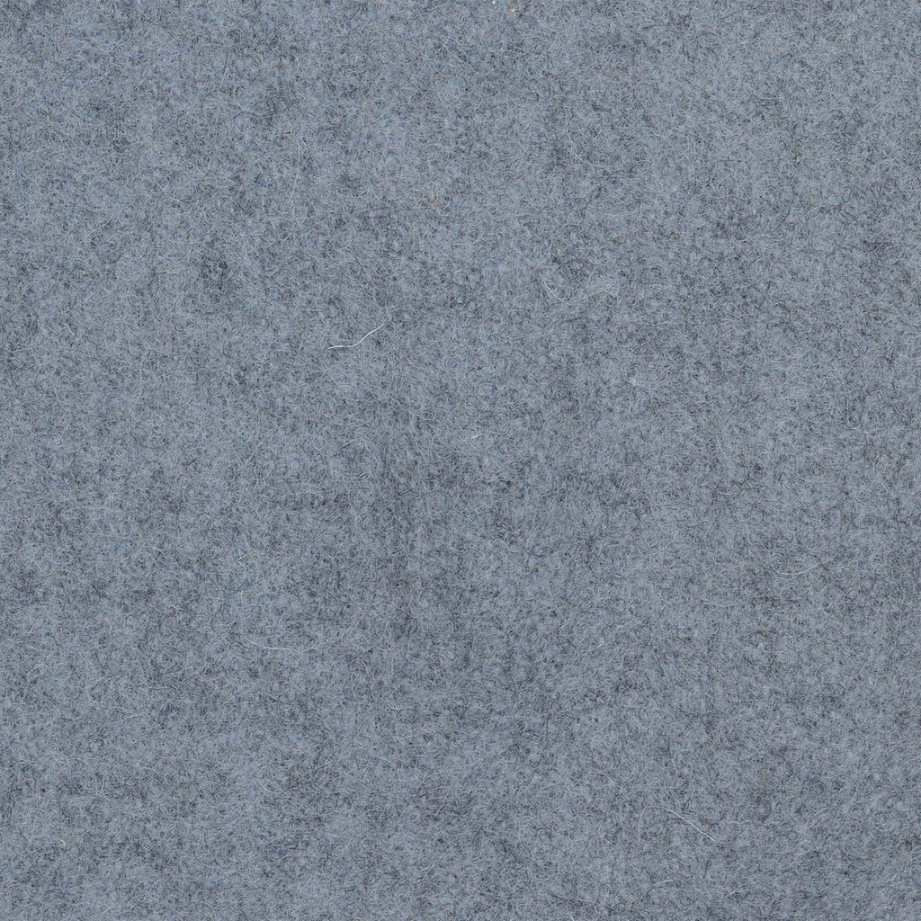 Storm Grey Melton Wool Coating