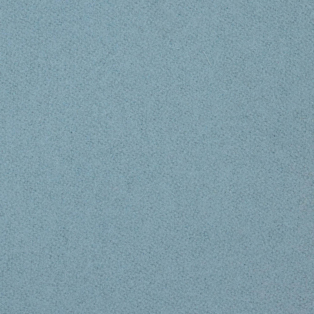 Aqua Blue Melton Wool Coating