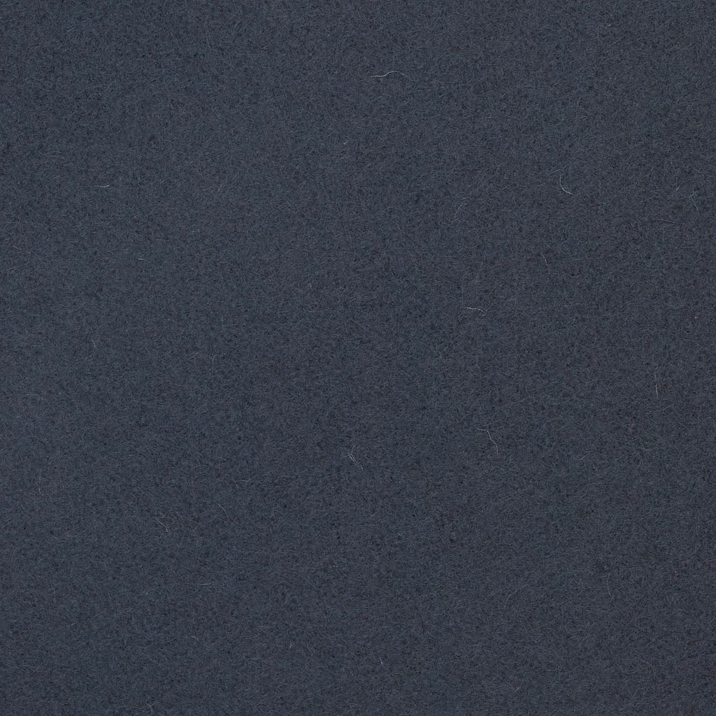 Steel Grey Melton Wool Coating