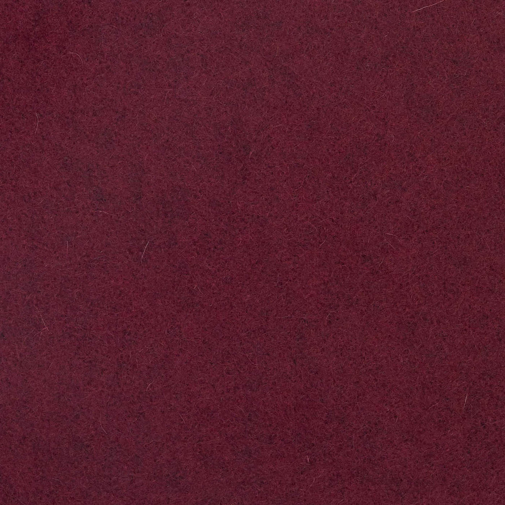 Merlot Melton Wool Coating