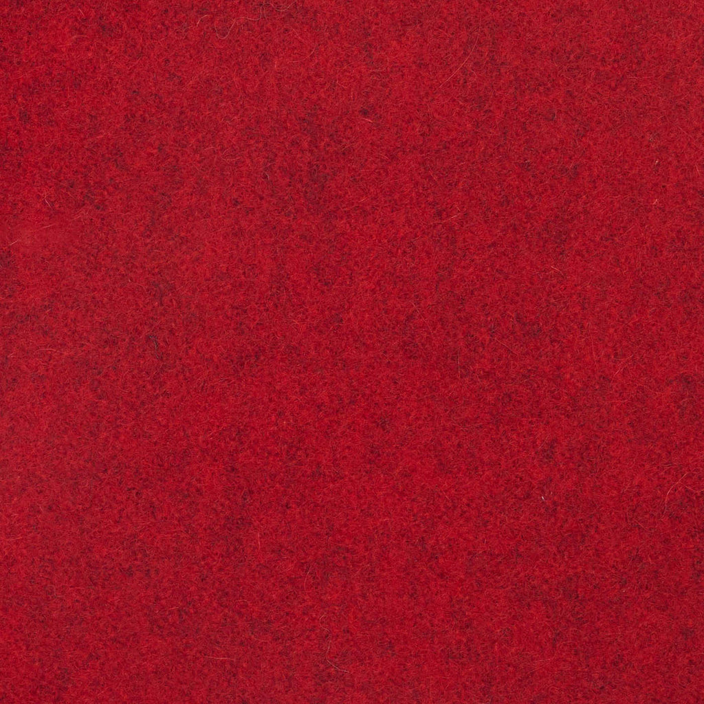 Red Marl Melton Wool Coating