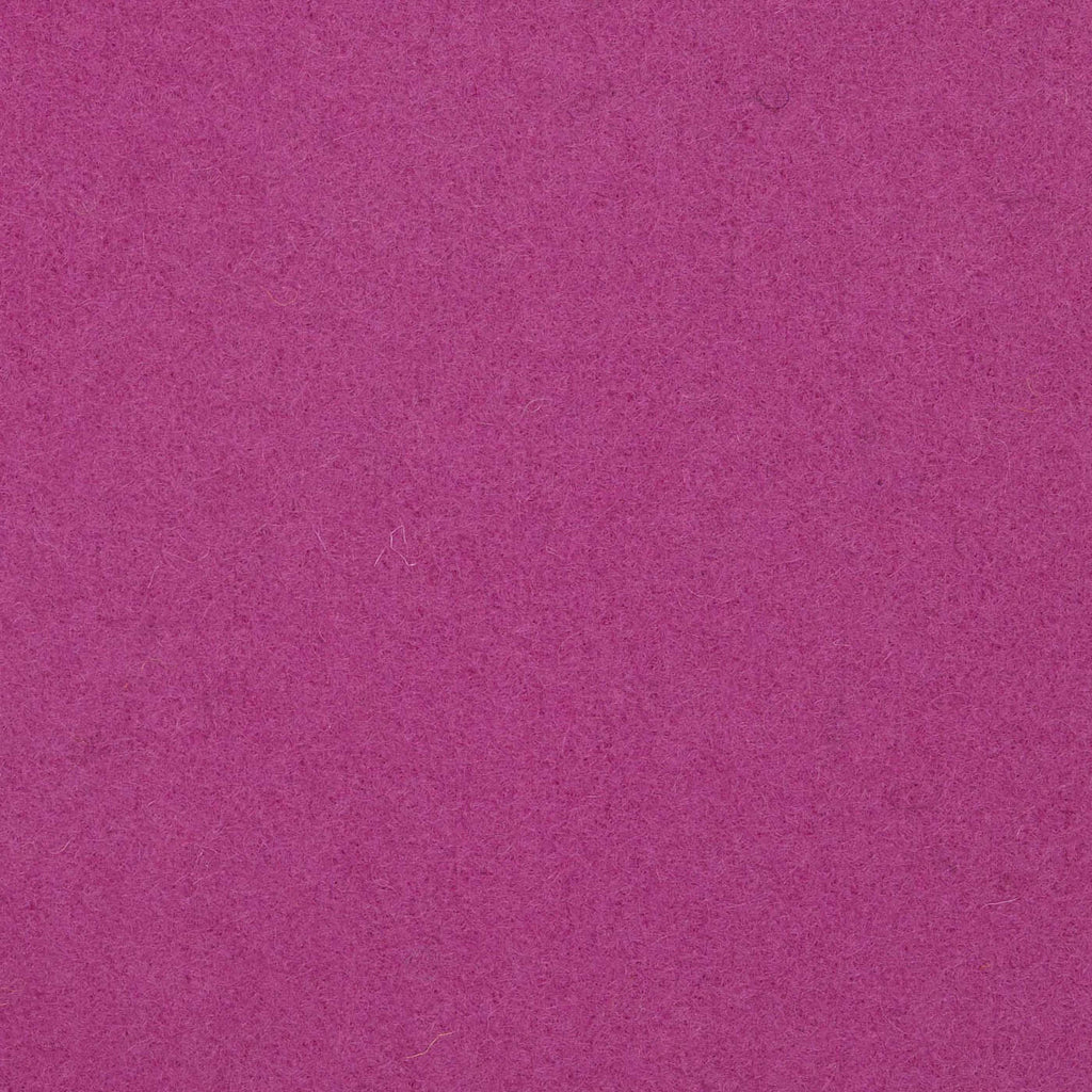Fuchsia Melton Wool Coating