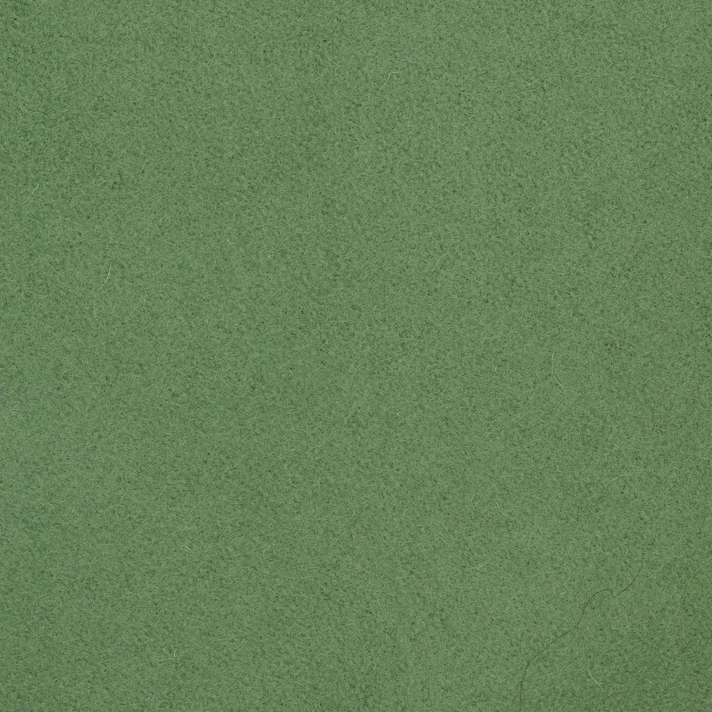 Apple Green Melton Wool Coating