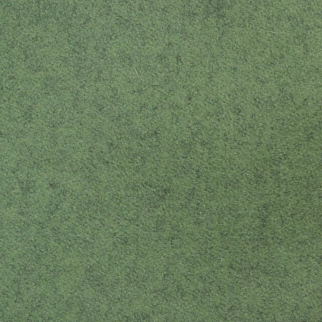 Moss Green Melton Wool Coating